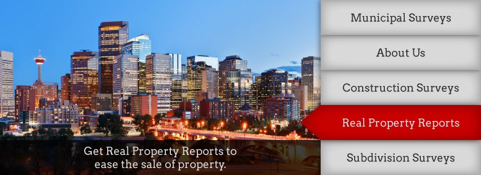 Get Real Property Reports to ease the sale of property