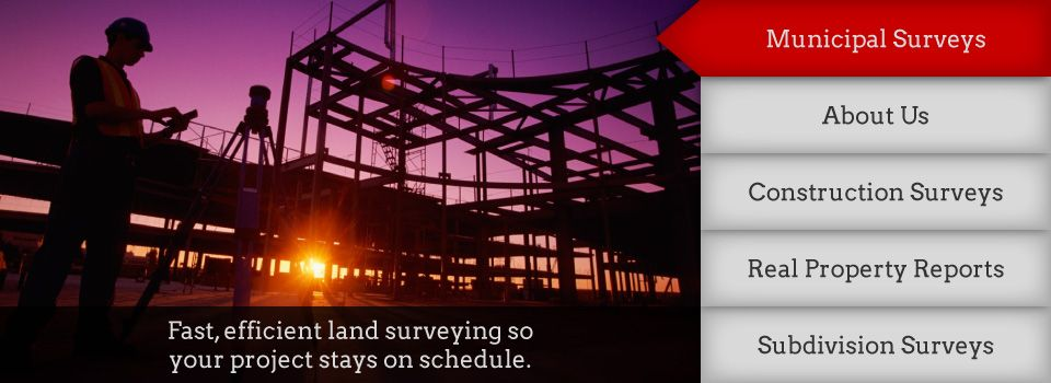 Fast, efficient land surveying so your project stays on schedule